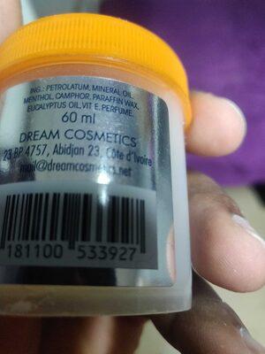 Baume menthol - Product - fr
