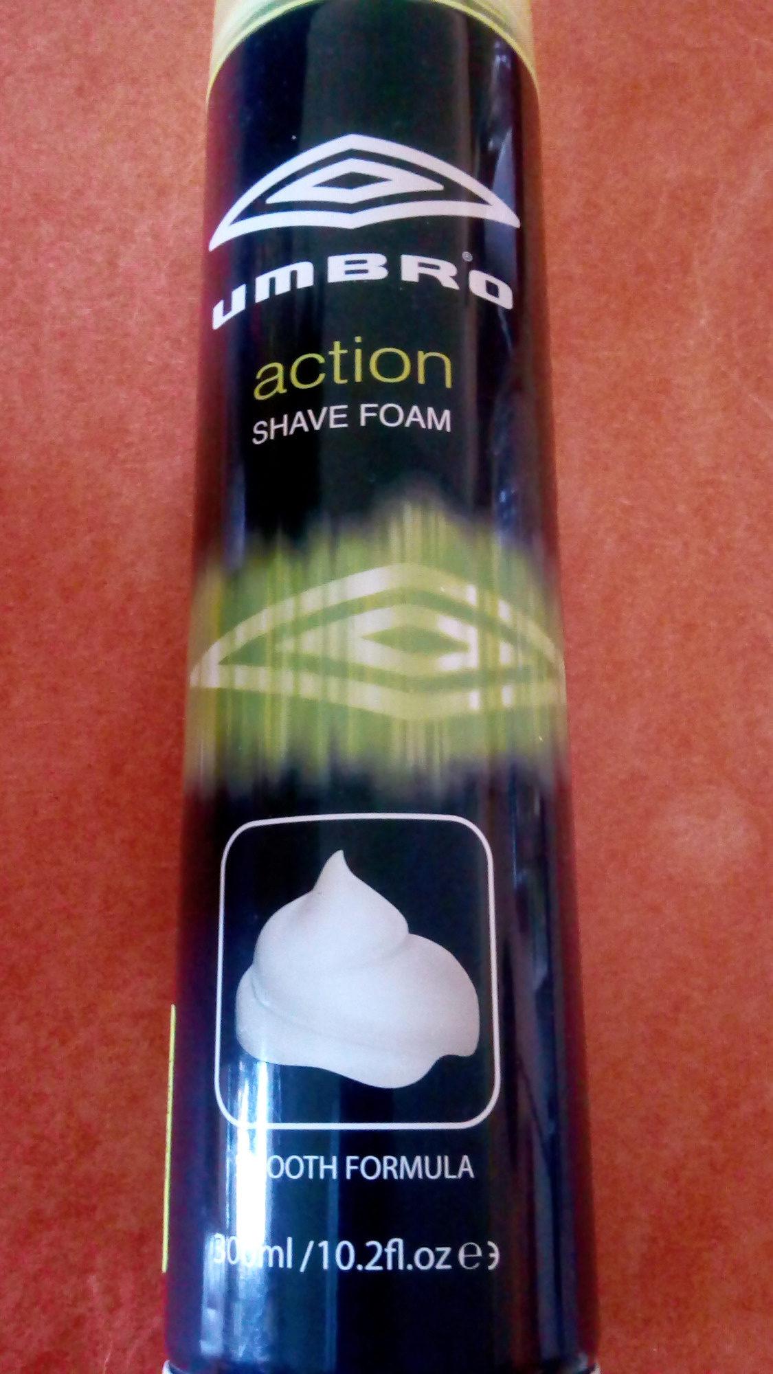 Action Shave Foam - Produit