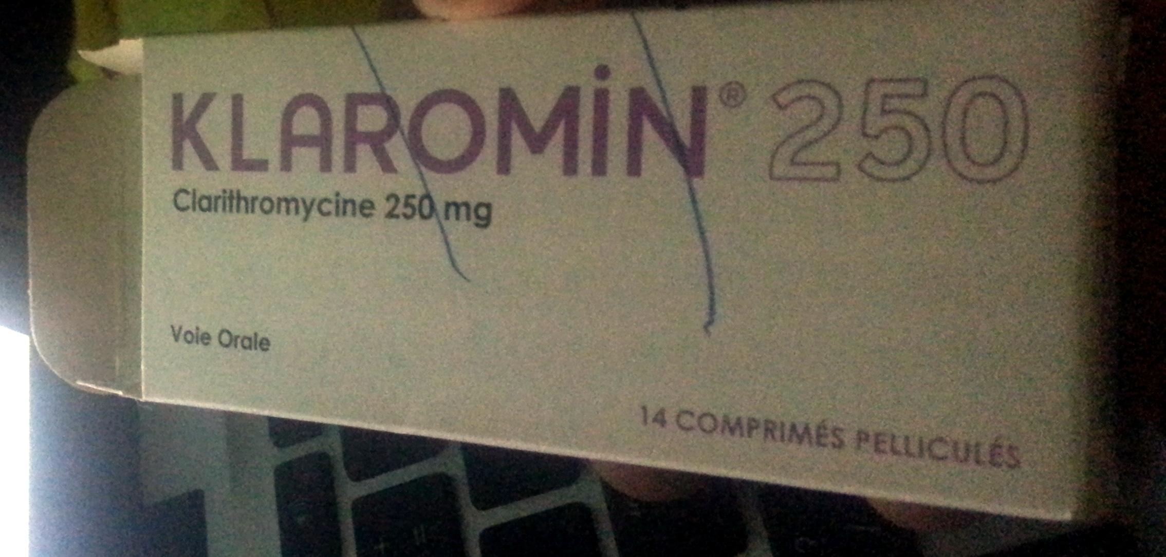 Klaromin 250 - Product - fr