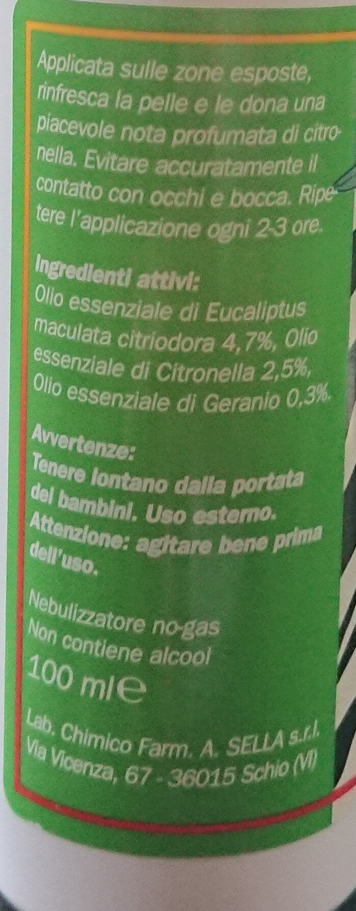 Citronella Total Protection - Product - en