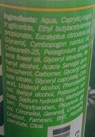 Citronella Total Protection - Ingrédients - it