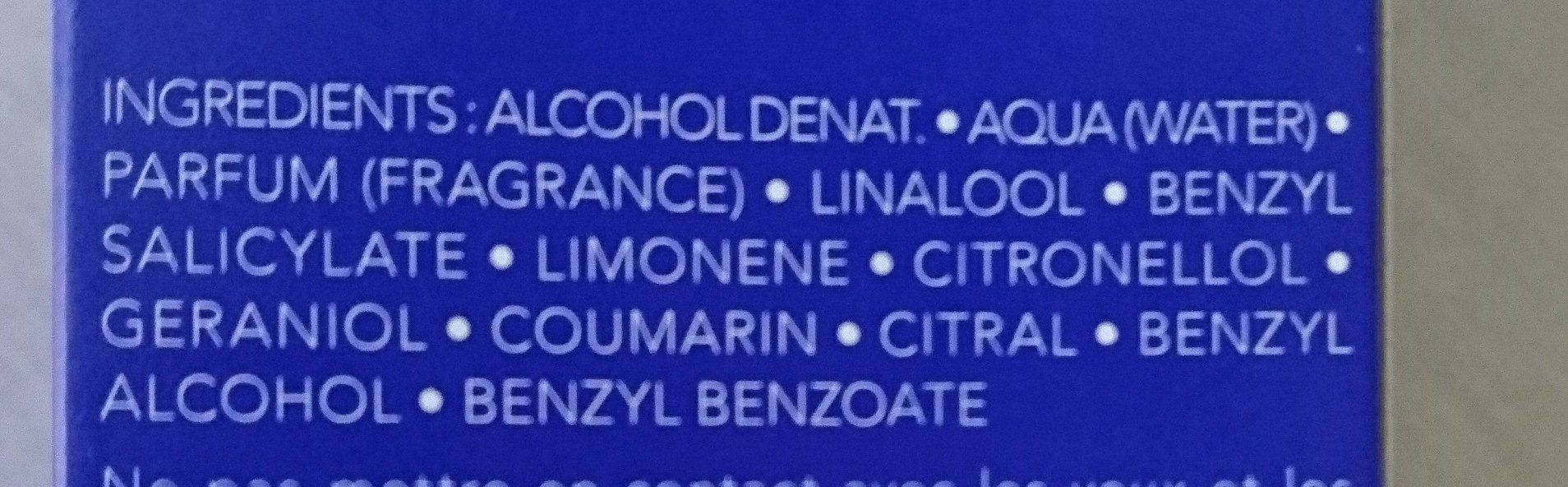 Bulleuse luxueuse - Ingredients - fr