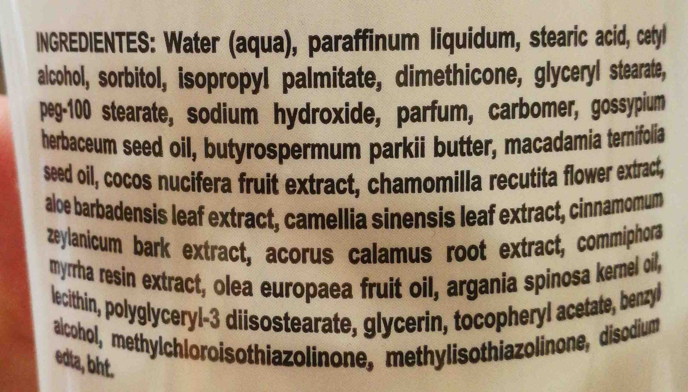 Azzorti - Ingredients - en