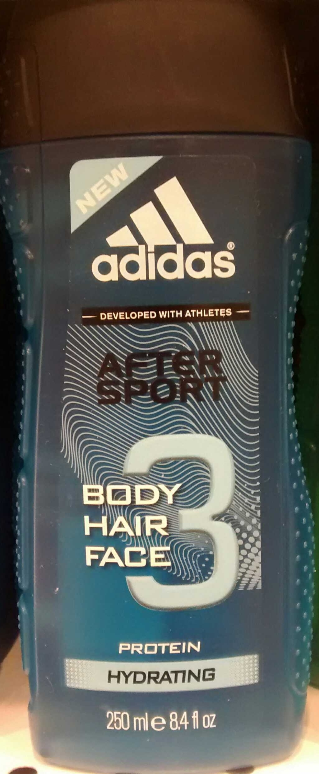 After sport Body hair face 3 - Product