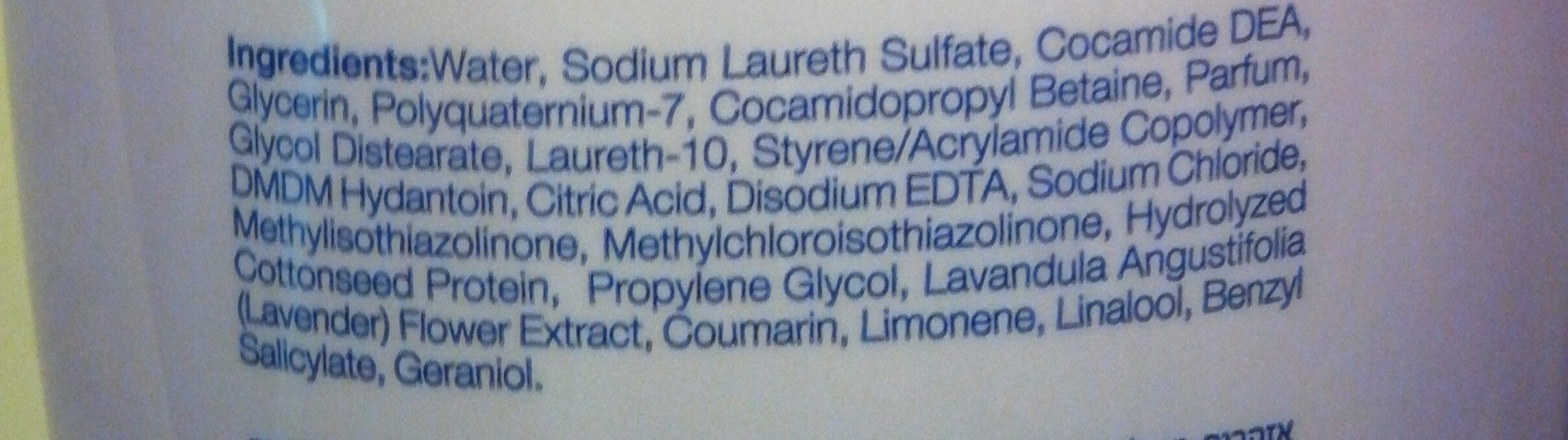 Lavender - Ingredients - en