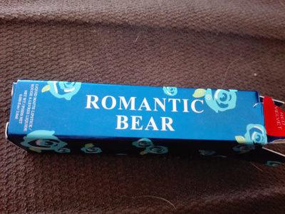 Romantic bear , red velvet - Product