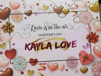 Kayla Love - Ingrédients - en