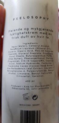 feelosophy - Ingredients - en