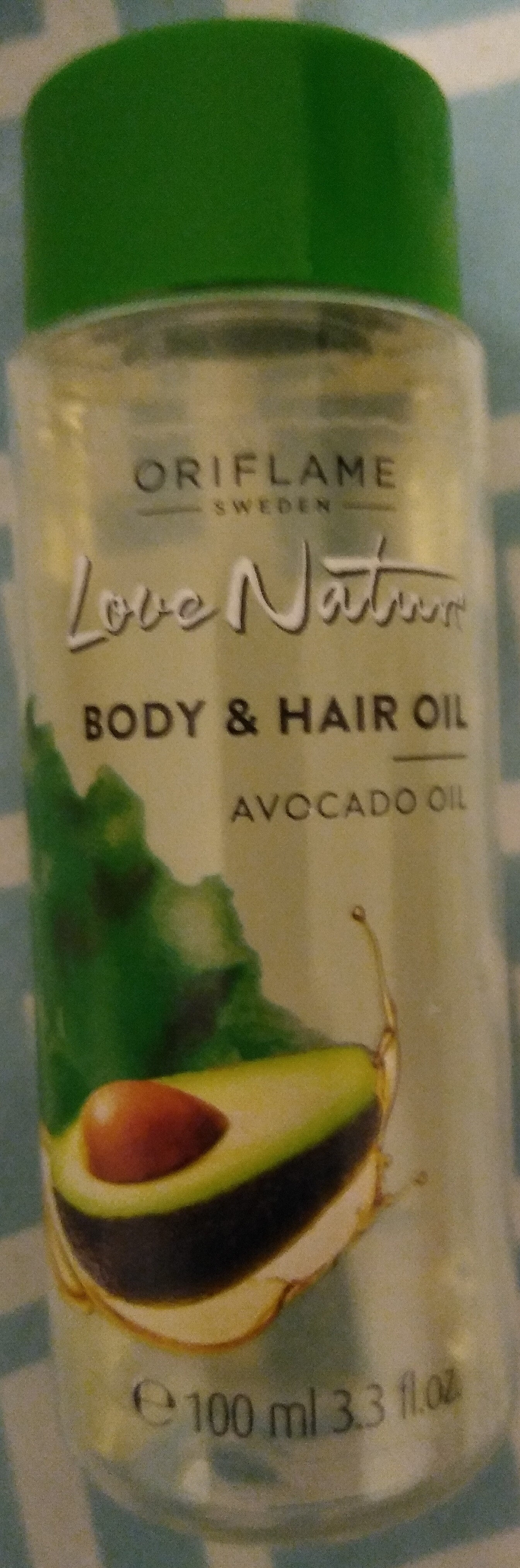 Love nature body & hair oil - Product