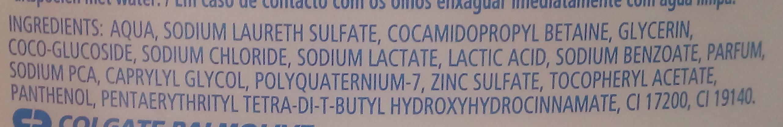 GEL LAVANT HYDRATE ET REVITALISE - Ingredients - fr