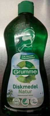 Grumme Diskmedel Natur - Product - sv