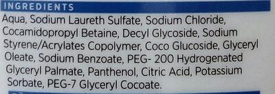 ICA Duschtvål oparfymerad - Ingredients