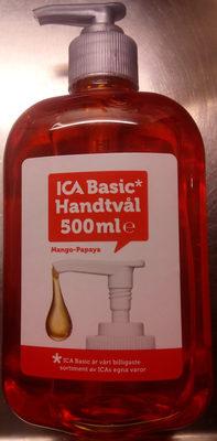 ICA Basic Handtvål Mango-Papaya - Product - sv
