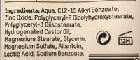 Baby Zinksalva - Ingredients