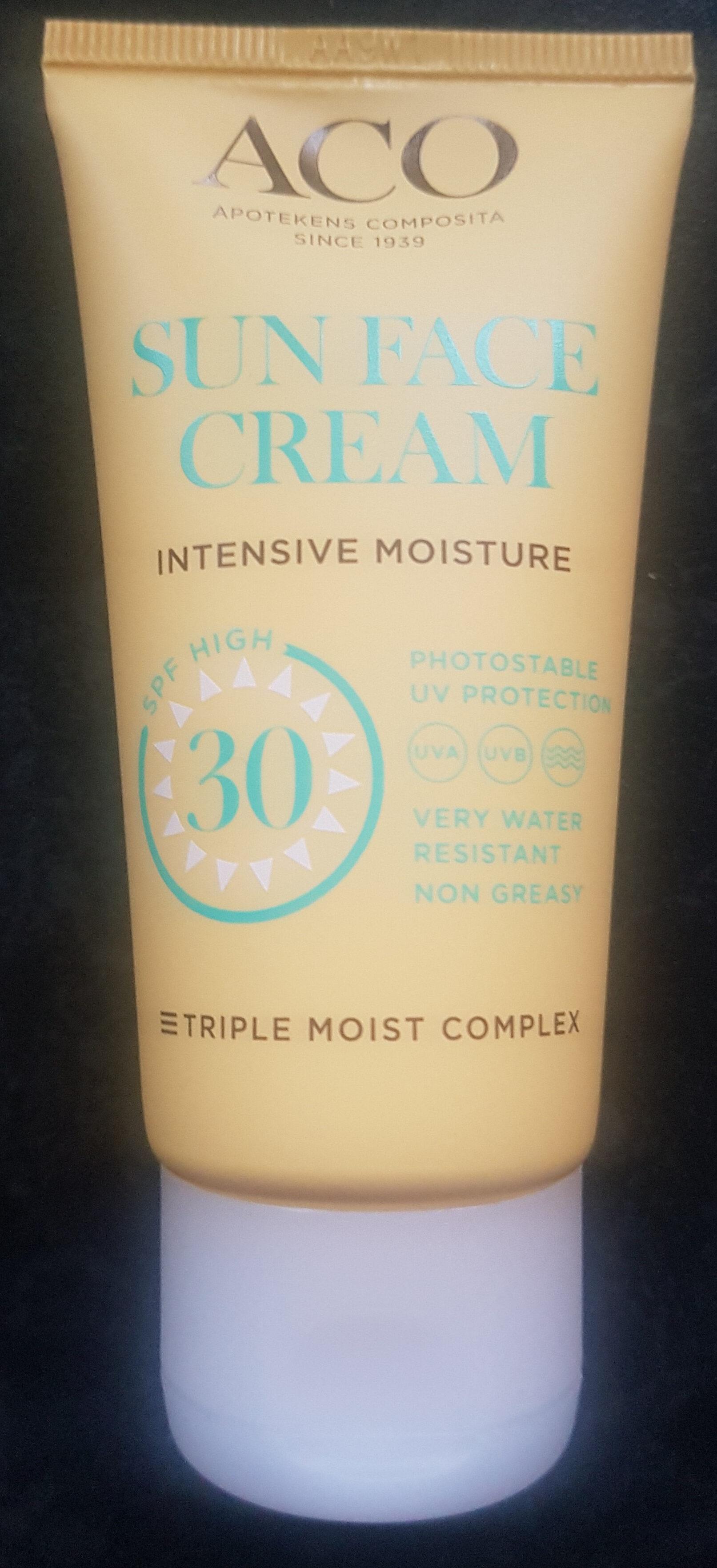 Sun face cream - Product - sv