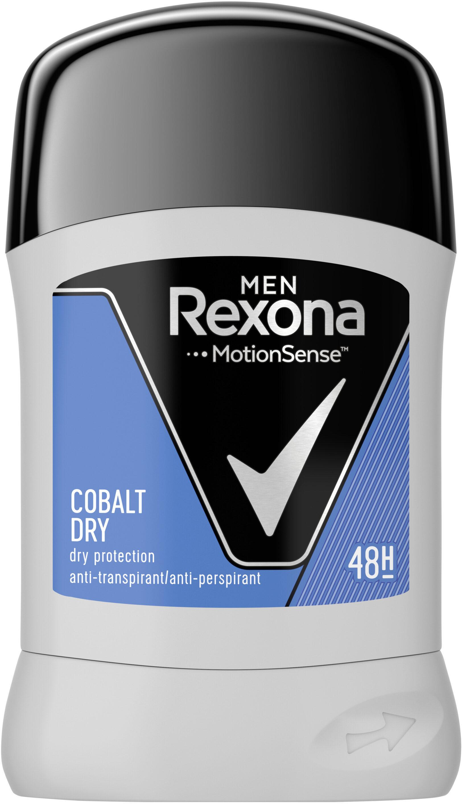 REXONA MEN Stick Anti-Transpirant Cobalt Dry - Produit - fr