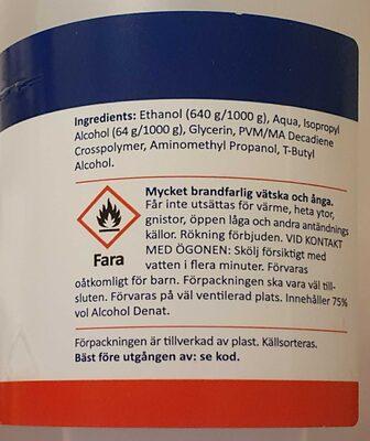 Hand desinfektion - Product - en