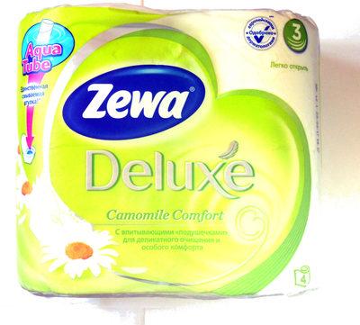 Zewa Deluxe Camomile Comfort - Product - ru