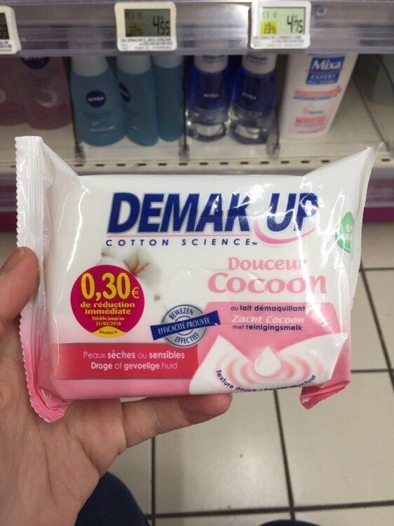 Lingettes démaquillantes douceur peaux sèches et sensibles - Product