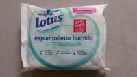 Lotus Papier toilette humide - Produit