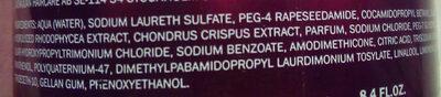 Intensive Repair Shampoo - Ingredients - fr