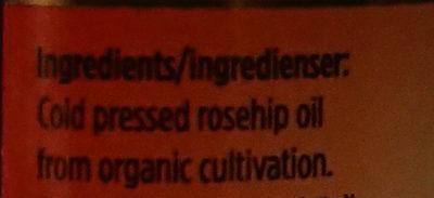 Rosehip oil - Ingredients