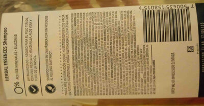 shampoo shampoo - Ingredients - en