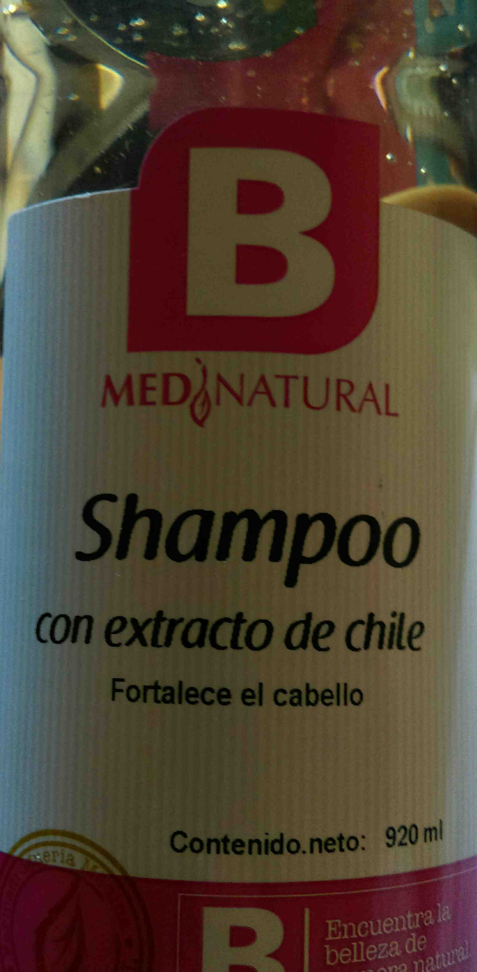 shampoo de chile Medina - Product - en