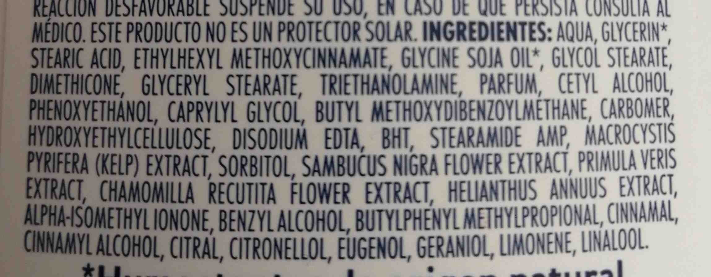 Crema ST. Ives - Ingredients - en