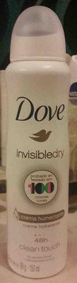 Invisible dry 48h clean touch - Produit - en
