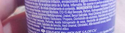 Desodorante - Ingredients - en