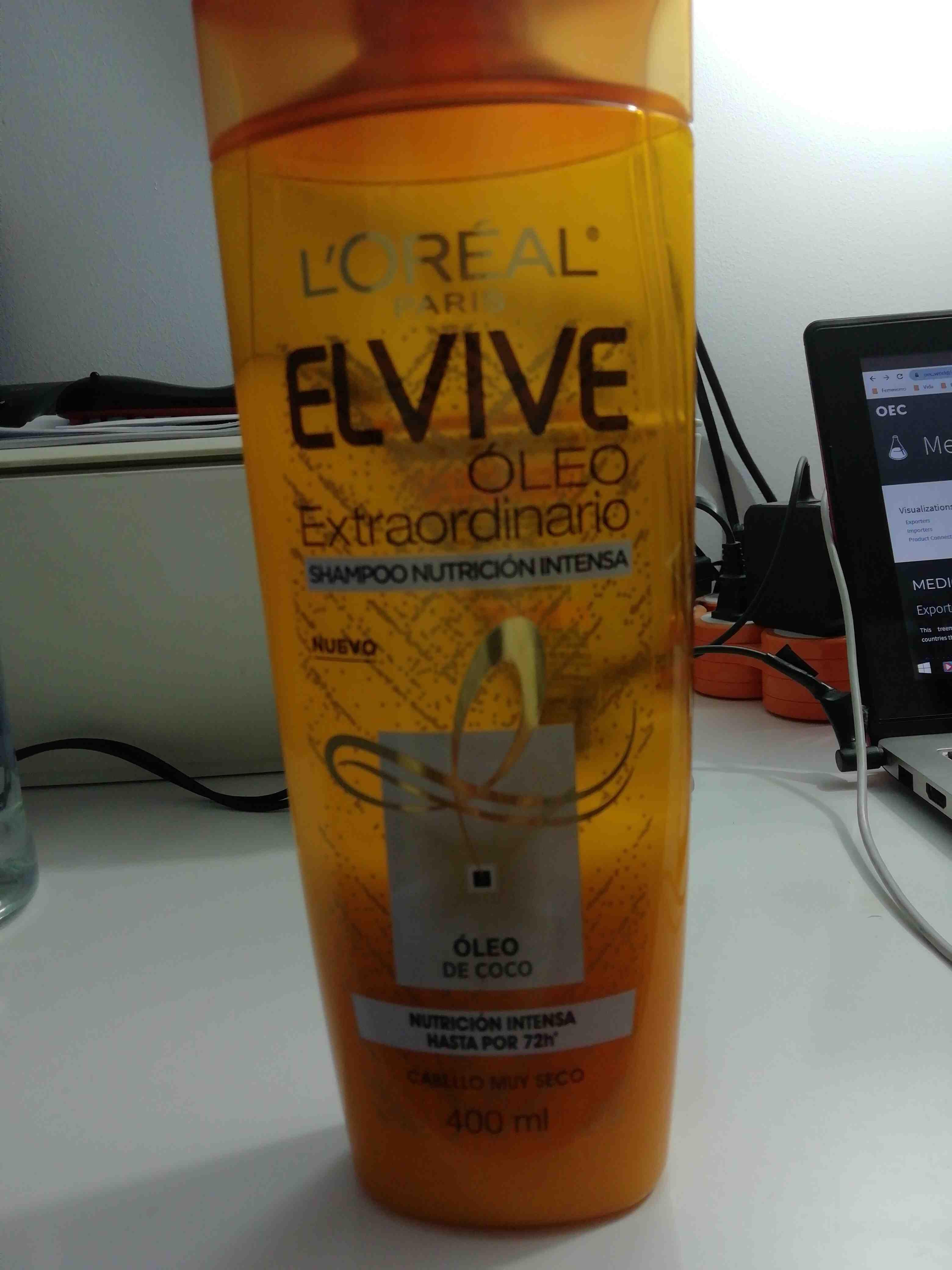 Elvive oleo extraordinario shampoo - Product - en