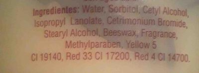 crema - Ingredients
