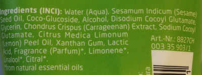 Citrus - Ingredients - fr