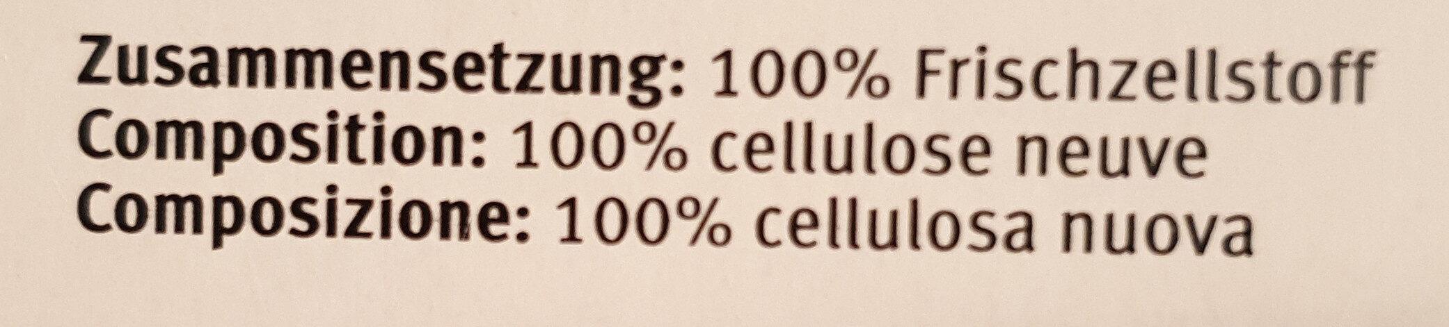 Kosmetiktücher Weiss - Ingredients - de