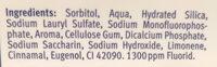 Fresh gel - Ingredients - fr