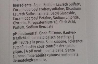 Bellena Hair Care Shampoo Ultra doux - Ingredients - fr