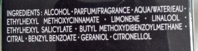 So Elixir Purple - Ingredients - fr