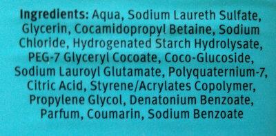 shower gel coconut - Ingredients - en