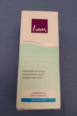 I am Anti-Unreinheiten 24 H Feuchtigkeitscreme - Product - en