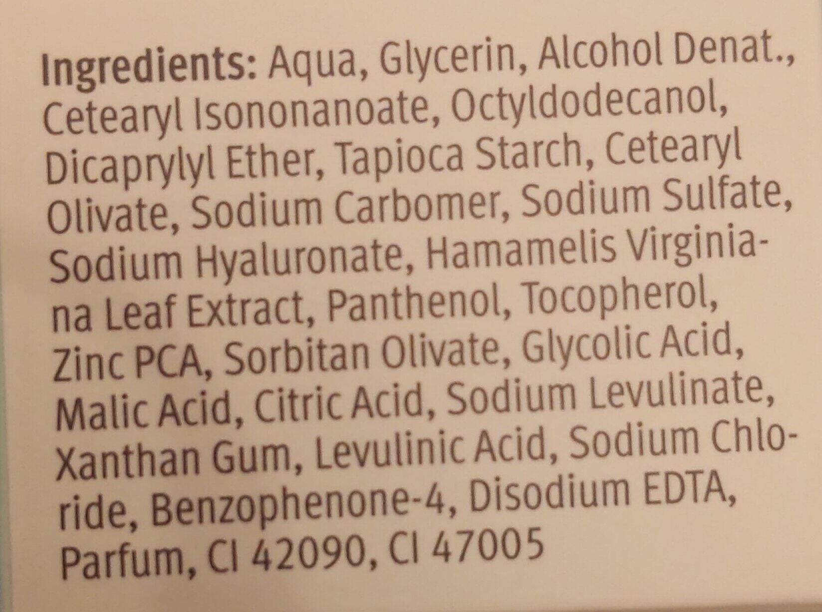 I am Anti-Unreinheiten 24 H Feuchtigkeitscreme - Ingredients - de
