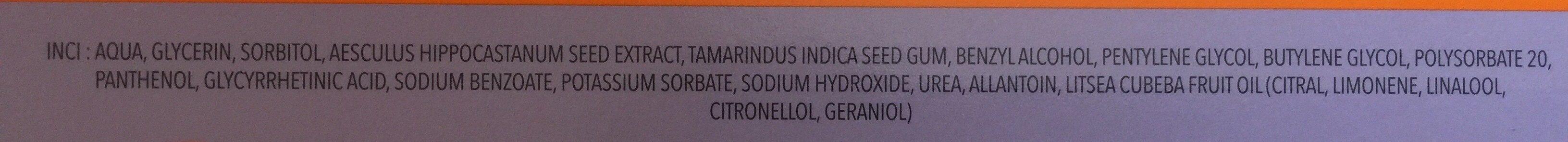 MicroH - Ingrédients