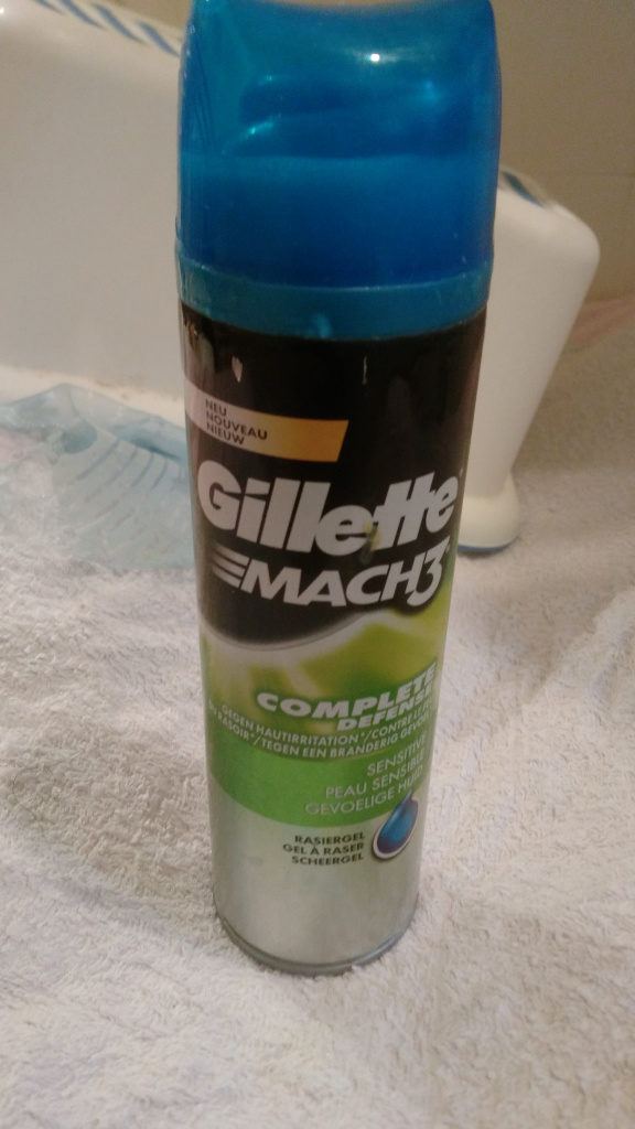 Mach3 Complete Defense Sensitive gel - Product - fr