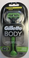 Gillette Body Rasoir 3 lames - Product