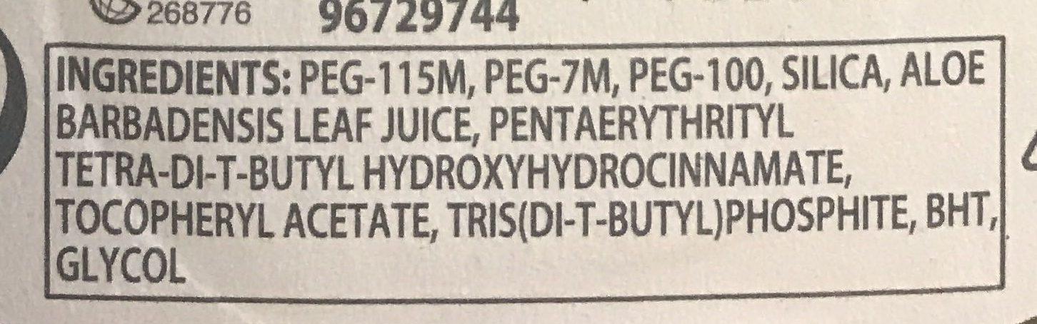 Gillette Body Rasoir 3 lames - Ingredients