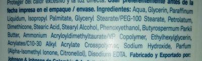 Lubridem - Ingredients