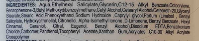 crema liquida humectante lubriderm - Ingredients - en