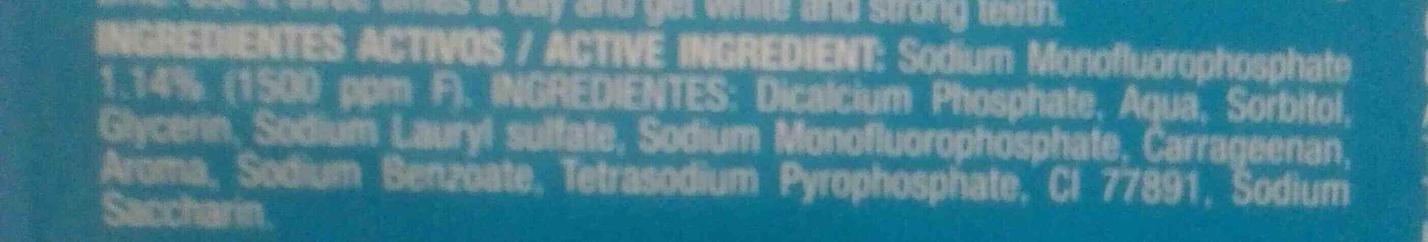 Dento dento - Ingredients - en