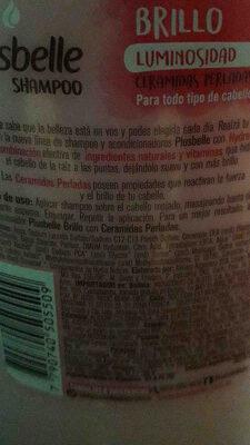 plusbelle - Ingredients - en