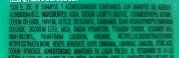 Rizos Definidos Shampoo - Ingredients - en